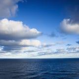 Vista sul mare. Fotografia Stock
