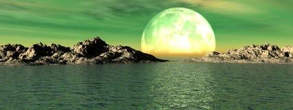 Vista sul mare 6 royalty illustrazione gratis