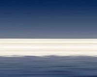 Vista sul mare illustrazione vettoriale