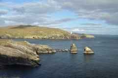 Vista sul mare ad ovest del sughero Fotografia Stock Libera da Diritti