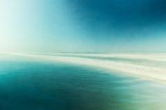 Vista sul mare astratta strutturata Fotografia Stock Libera da Diritti