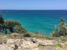 Vista sul mare australiana dell'isola Fotografie Stock