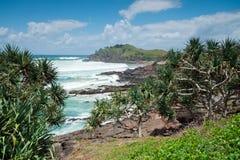Vista sul mare australiana durante il giorno Fotografie Stock Libere da Diritti