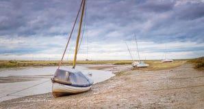 Vista sul mare a Blakeney immagine stock libera da diritti