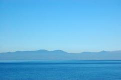Vista sul mare calma Fotografie Stock