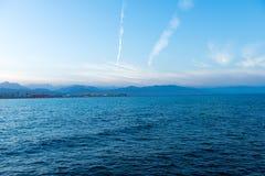 vista sul mare del Mar Rosso Fotografia Stock