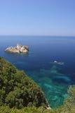 Vista sul mare del turchese Fotografia Stock Libera da Diritti