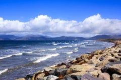 Vista sul mare dell'Irlanda fotografia stock libera da diritti