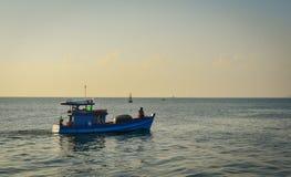 Vista sul mare dell'isola di Tho Chau, Vietnam Fotografia Stock Libera da Diritti