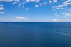 Vista sul mare dell'Oceano Atlantico Fotografia Stock