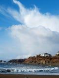 Vista sul mare dell'Oregon Fotografia Stock Libera da Diritti