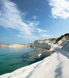 Vista sul mare della baia Fotografia Stock