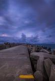Vista sul mare della baia di Richards Fotografie Stock