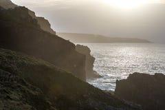 Vista sul mare della Cornovaglia Fotografia Stock Libera da Diritti
