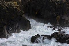 Vista sul mare della Cornovaglia Immagini Stock