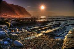 Vista sul mare della costa Fotografia Stock