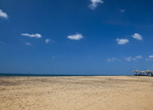 Vista sul mare della foto sull'Oceano Indiano in Sri Lanka Immagine Stock Libera da Diritti