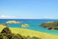Vista sul mare della Nuova Zelanda Fotografia Stock