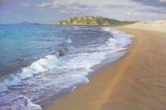 Vista sul mare della Sardegna Fotografia Stock Libera da Diritti