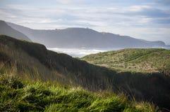 Vista sul mare della scogliera di Verdicio Fotografia Stock