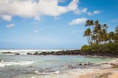 Vista sul mare della spiaggia della tartaruga Fotografie Stock