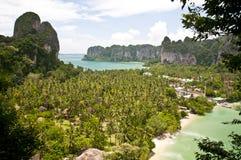 Vista sul mare della Tailandia Fotografia Stock