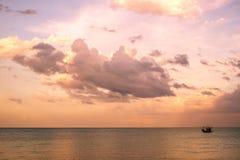 Vista sul mare della Tailandia fotografia stock libera da diritti