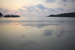 Vista sul mare della Tailandia Fotografie Stock Libere da Diritti