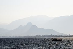 Vista sul mare di Antalya (Turchia) Immagini Stock
