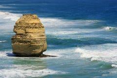 Vista sul mare di 12 Apostlesl Australia Fotografia Stock Libera da Diritti