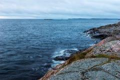Vista sul mare di Archipalegao Immagini Stock