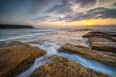 Vista sul mare di Sydney Fotografia Stock