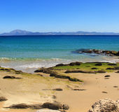 Vista sul mare di Tarifa Fotografia Stock Libera da Diritti