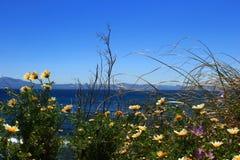 Vista sul mare di Tarifa Fotografie Stock Libere da Diritti