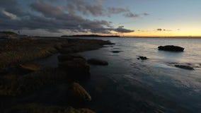 Vista sul mare di Timelapse Sydney. archivi video