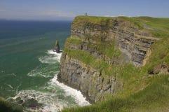 Vista sul mare e paesaggio della scogliera Immagini Stock Libere da Diritti