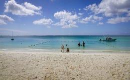 Vista sul mare in grande Baie, Mauritius Fotografia Stock Libera da Diritti