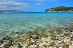 Vista sul mare, Grecia Fotografie Stock Libere da Diritti