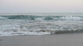 Vista sul mare idilliaca del mar Mediterraneo video d archivio
