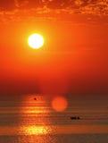 Vista sul mare idillica. Immagine Stock