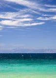 Vista sul mare ionica immagine stock