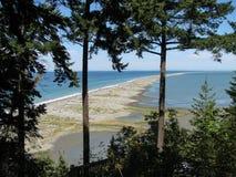 Vista sul mare irregolare, riserva del cittadino di Dungeness fotografia stock libera da diritti