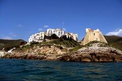 Vista sul mare in Italia Fotografie Stock Libere da Diritti