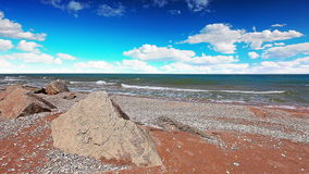 Vista sul mare. 4K. HD PIENO, 4096x2304. archivi video