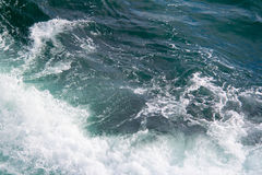 Vista sul mare Lo schianto ondeggia nei mari Fotografia Stock Libera da Diritti