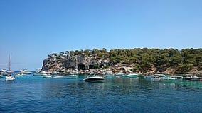 Vista sul mare Mallorca Fotografia Stock Libera da Diritti