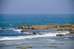 Vista sul mare pacifica e di rilassamento Immagine Stock