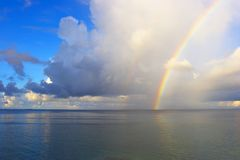 Vista sul mare piacevole immagini stock libere da diritti