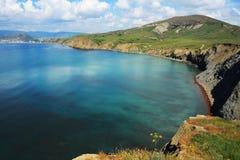 Vista sul mare - riflessioni su acqua. Foto 0698 Immagini Stock