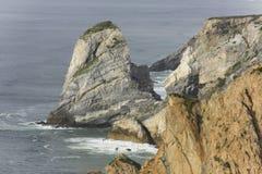 Vista sul mare rocciosa Fotografia Stock Libera da Diritti